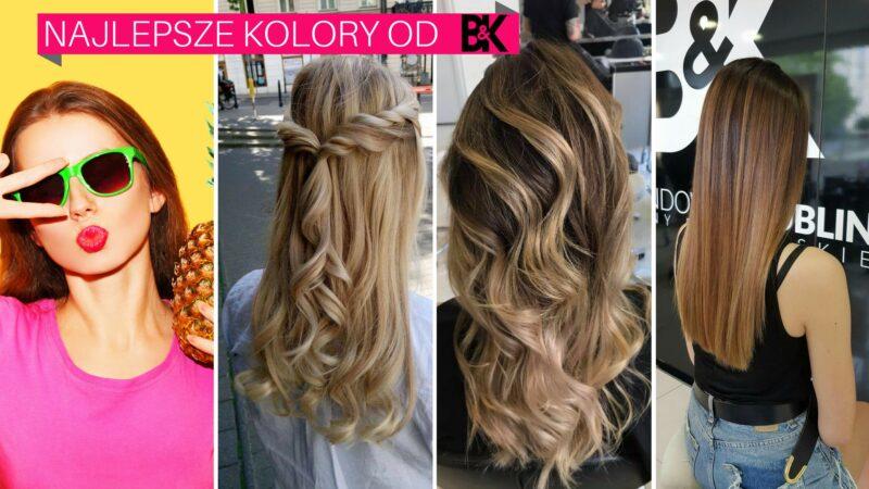 Modne kolory włosów na lato 2017 - rekomendacje stylistów B&K Tamka